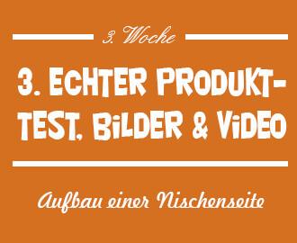 Echter Produkttest, Bilder, Videos