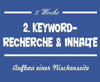 Keyword Recherche Nischenseite