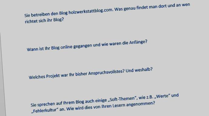 Interviews-für-Nischenwebsites