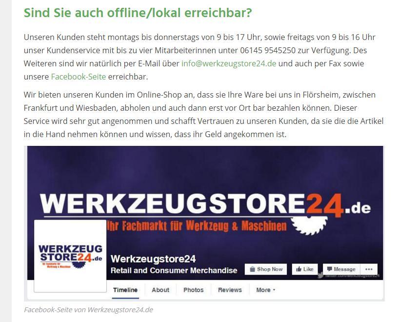 Interview werkzeugstore24